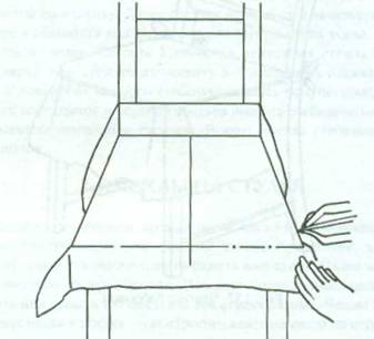 Чехол на сиденье стула своими руками выкройки