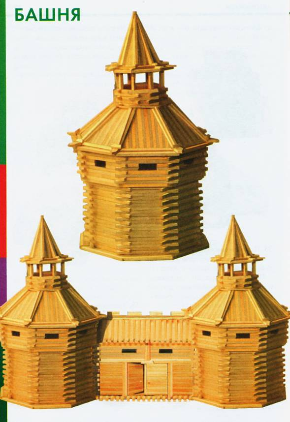 Башня из спичек своими руками